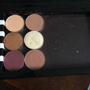 Mac and makeup geek single shadows